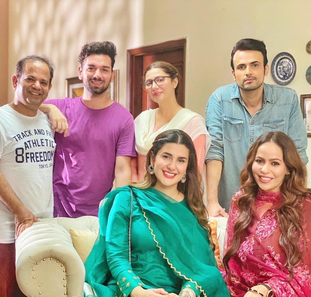 Hum Kahan Kay Sachay Thay Drama Cast with Mahira Khan