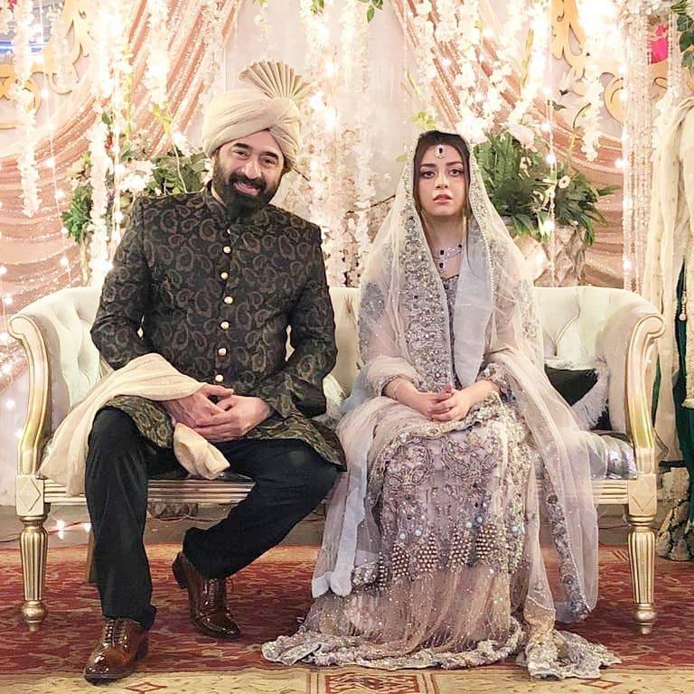 yasir Nawaz with alizeh shah