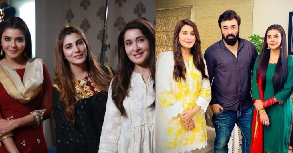 Nida Yasir and Shaista Lodhi upcoming Eid Play