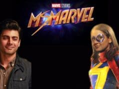 Fawad Khan with Ms. Marvel Iman Vellani