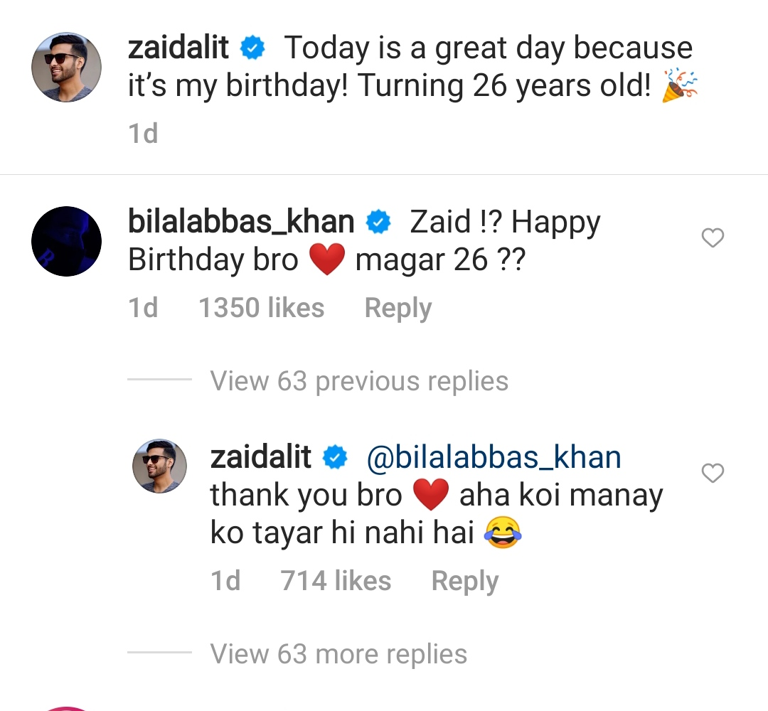 Zaid Ali T and Bilal Abbas Khan