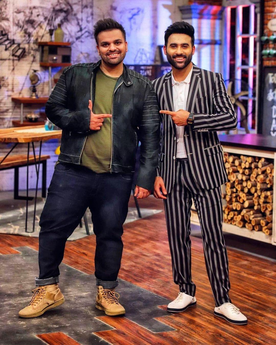 Aadi Adeal Amjad and Faizan Shaikh