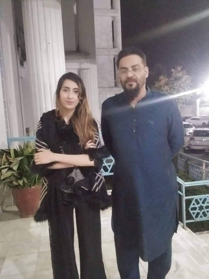 Amir Liaquat Third Wife