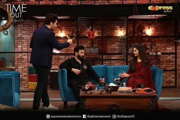 Yasir Nawaz talking about Alizeh Shah