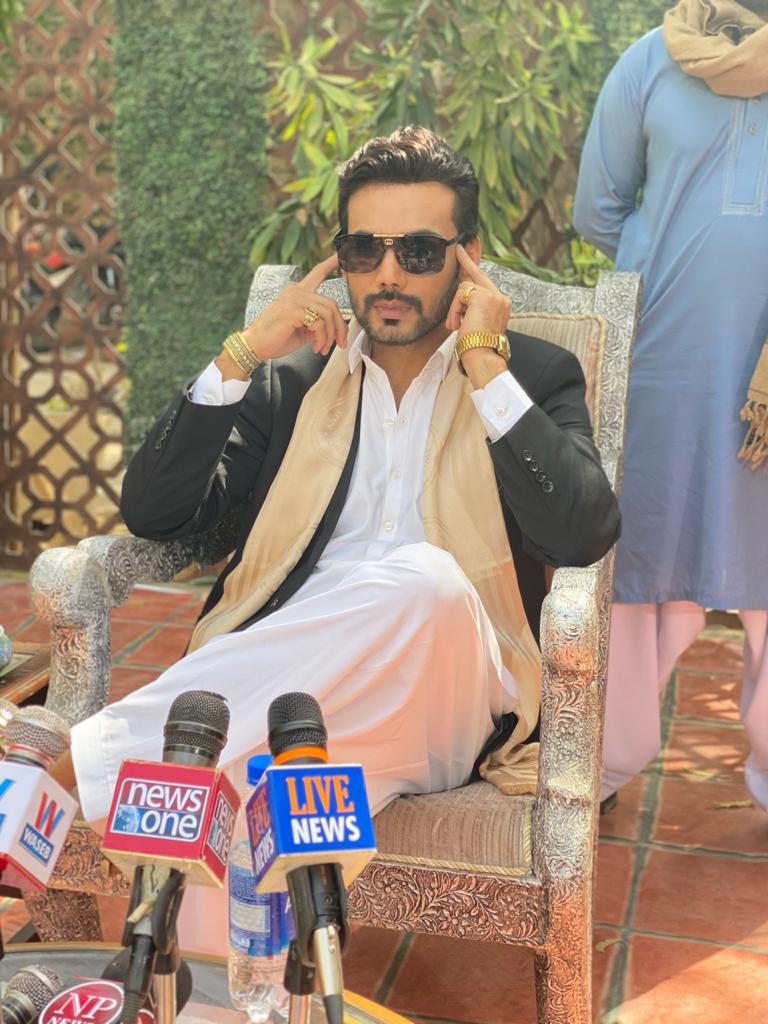 Zahid Ahmed in Mor Moharaan Drama