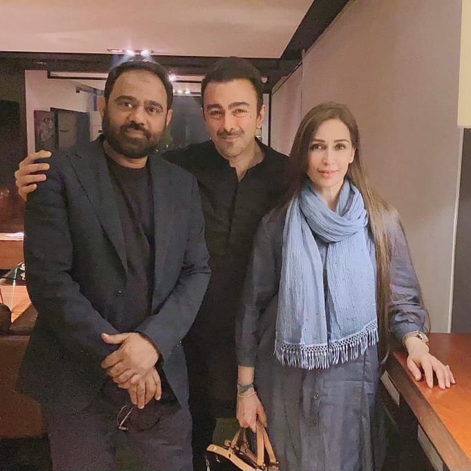 Shaan with Reema and Papu