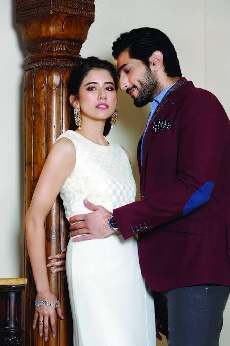 Syra Yousaf with Bilal Ashraf