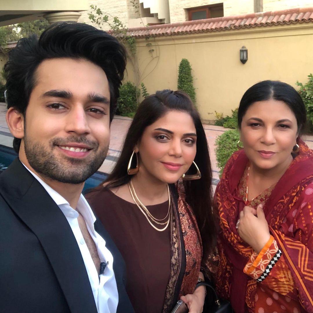 bilal abbas khan and Hadiqa Kiani New Drama