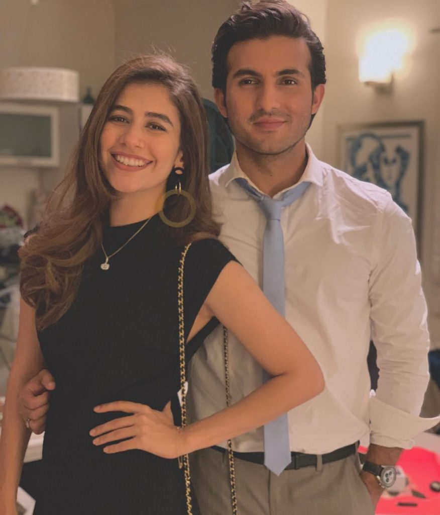 Syra Yousaf with Shahroz Sabzwari in upcoming Movie