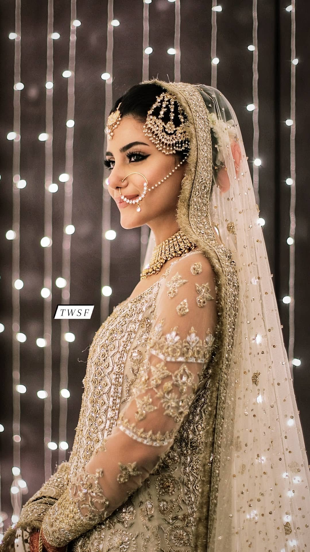 Sohai Ali Abro Wedding Pics in wedding dress